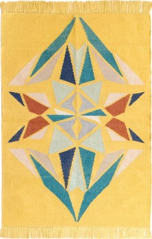 KILIM DIAMANTE AMARILLO