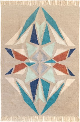 KILIM DIAMANTE MARRÓN