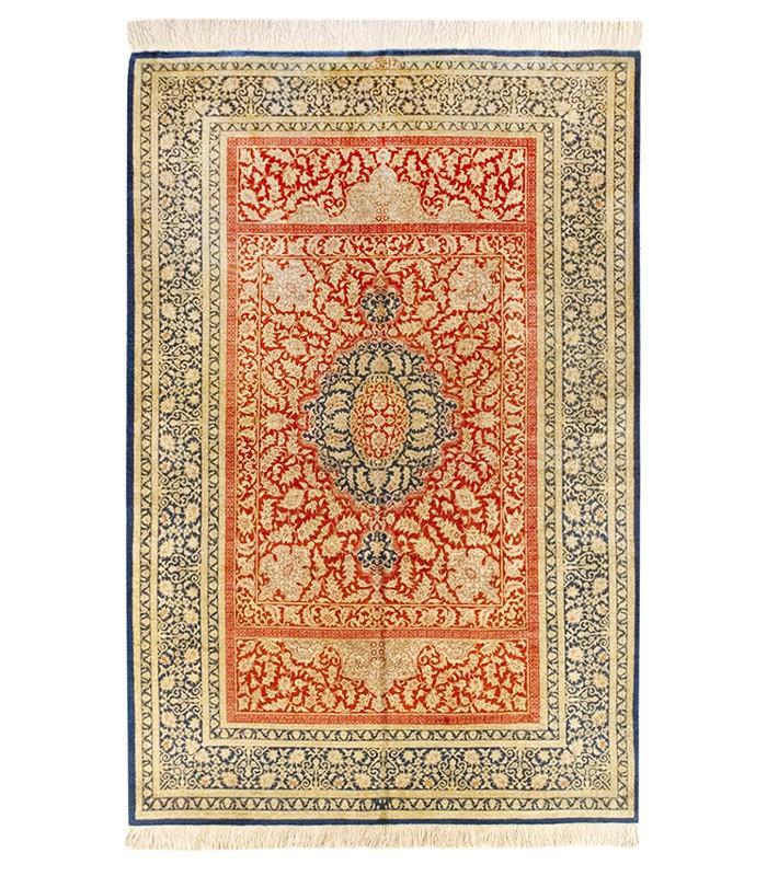 Alfombra Iran Ghom seda 150x100 Compra online en Alfombras