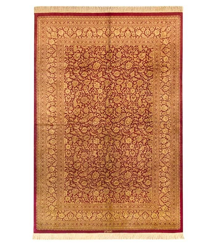 Iran Ghom silk 195x132