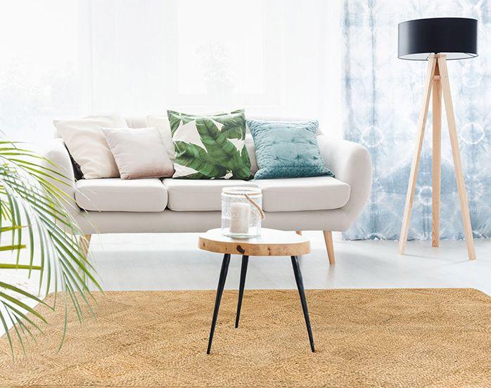 salon natural alfombra
