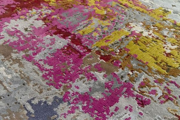 alfombra con colores