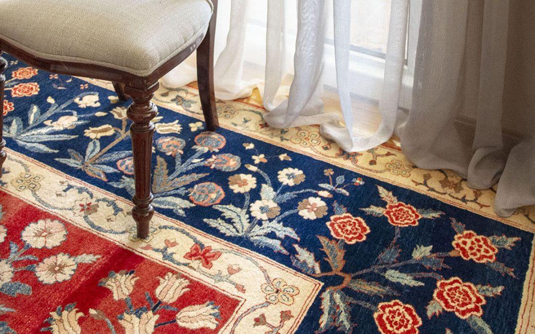 Las cortinas: altura, colores, tipos y cómo combinarlas con las alfombras