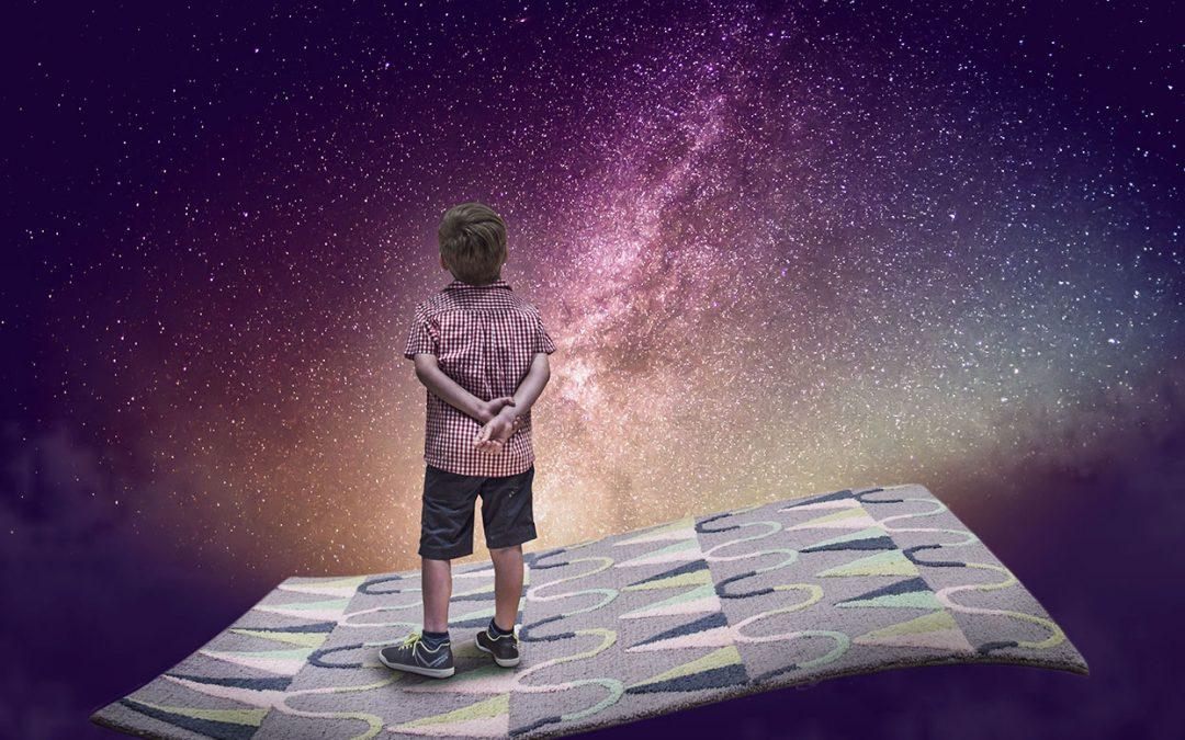 La alfombra infantil: el espacio donde recrea su universo