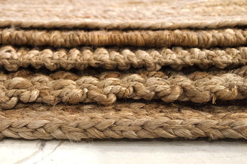 ¿Cuáles son las diferencias entre nuestras alfombras de yute?