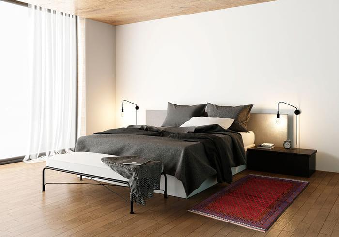 tapis classique dans la chambre