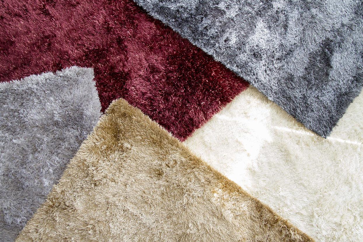 alfombra shaggy lanuda de pelo
