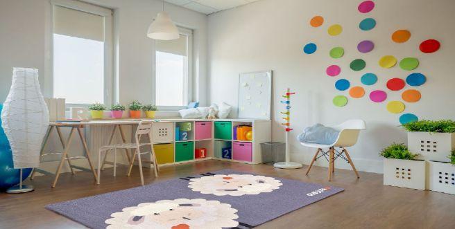 alfombras para habitaciones de bebés