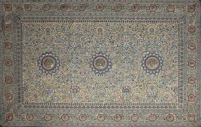 Cu les son las alfombras m s antiguas del mundo el for Alfombras persas historia