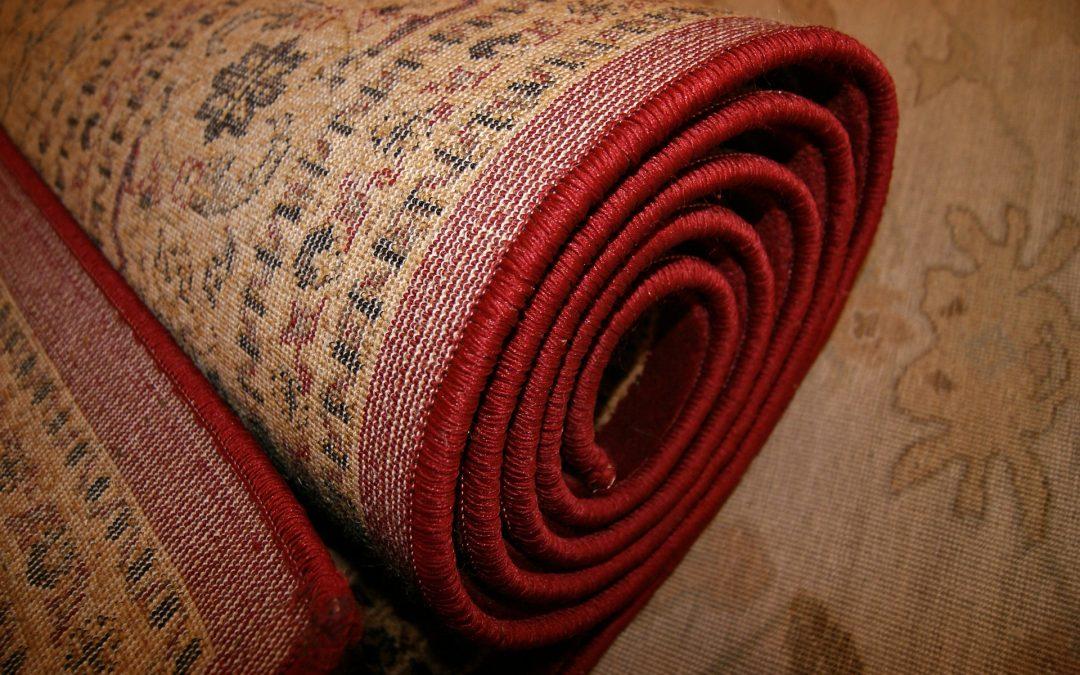 ¿Sabes cómo se debe guardar una alfombra?