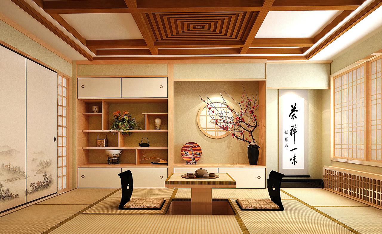 vivienda japonesa alfombras tatami